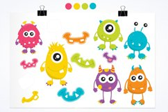 Monster Fun graphics and illustrations Product Image 2