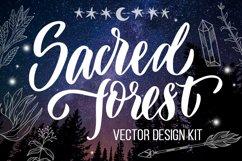 Sacred forest- big vector design kit Product Image 1