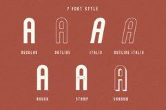 Abraham Font Family 7 Style Fonts Product Image 2
