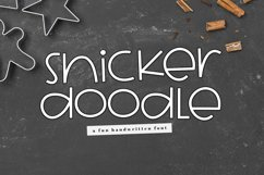 Snickerdoodle - A Cute Handwritten Font Product Image 1