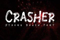 Crasher // Strong Brush Font Product Image 1