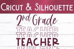 Second Grade Teacher SVG | Teacher Shirt SVG Product Image 2