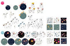 Wild Flowers Elements and Patterns Product Image 4