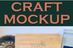 Mockup | Cookbook | iPad holder Vol III |Craft mock up Product Image 2