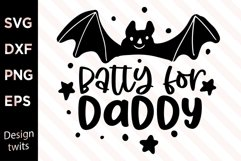 Batty For Daddy SVG Product Image 1