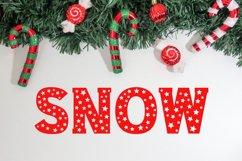 Christmas Stars Font Product Image 4