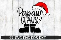 Papaw Claus - SVG PNG EPS DXF Product Image 1