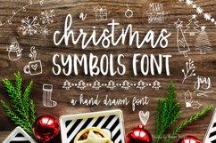 Christmas Symbols Font Product Image 1