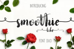 Smoothie Life [Font Duo] Product Image 1