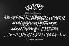Gifistag - Signature Brush Font Product Image 6