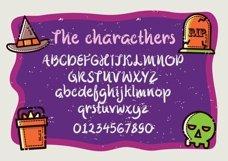 Web Font Spooky Tricks Product Image 2