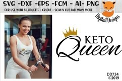 Keto Queen Keto Diet SVG Product Image 1