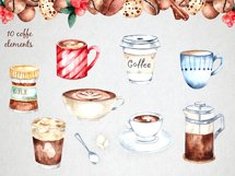 Coffee Watercolor Collection Product Image 3