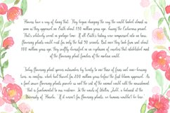 Blanchefleur Calligraphy Font Product Image 4