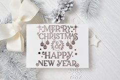 Christmas SVG - Merry Christmas and Happy New Year Product Image 3