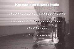Kotoba Dua - 22 Font styles and 150 Swashes Product Image 6