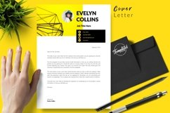Modern Resume CV Template for Word & Pages Evelyn Collins Product Image 5