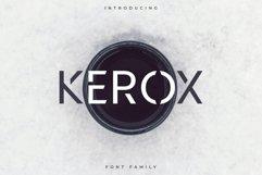 Kerox Font Family - Sans Serif Product Image 1