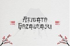 Hakio - Japanese Brush Font Product Image 4