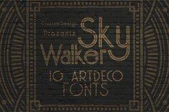 Skywalker - ArtDeco Typeface Product Image 5