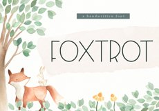 Foxtrot - Handwritten Font Product Image 1