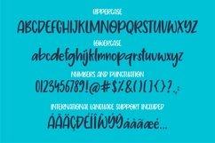 Web Font Pretty petals - a playful fun font Product Image 5