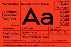 Moviemania - Sans Serif font Family Product Image 2