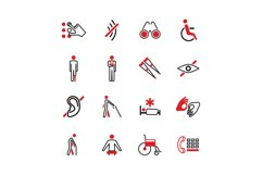 Disabled vector icons Product Image 1