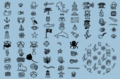 Fun & Cute Hand Drawn Vector Pack +Patterns Product Image 5