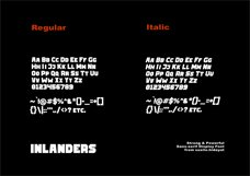 Inlanders Display Font Product Image 2