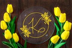 Floral Spring Monogram Product Image 2