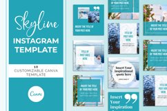 Skyline Instagram Canva Template Product Image 2