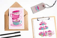 Tea Time graphics and illustrations Product Image 4