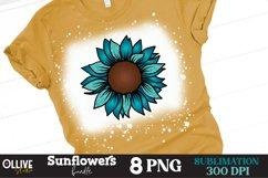 Sunflower PNG Bundle, Sunflower Sublimation PNG Product Image 2