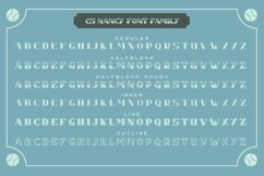 CS Nancy Font Family Product Image 4