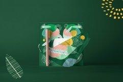 Seasonarium. Abstract botanical pattern and graphic set. Product Image 5