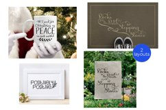Inspirational Quote Bundle, Positive Sayings Cut Files Product Image 6