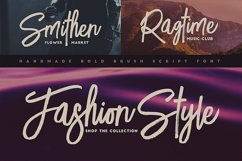 Lucky Fashion Brush Font Product Image 6
