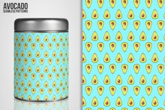 Avocado Seamless Patterns Product Image 6