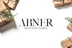 Abner Serif 6 Font Family Product Image 1