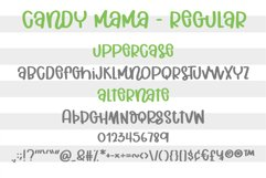 Candy Mama- A handritten font Product Image 2