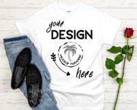 Gildan 5000 Mockup Bundle - Gildan Heavy Cotton T-shirts Product Image 3