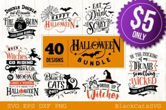 Halloween SVG bundle 40 designs vol 2 Product Image 1