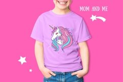 Unicorn t-shirt print children illustration Product Image 2