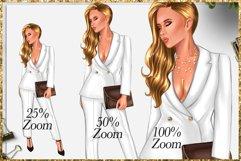 Fashion Girlboss Clipart Product Image 5