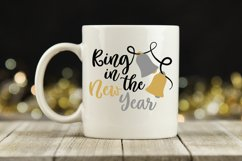 Ring in the New Year SVG Cut File - New Years SVG File Product Image 2
