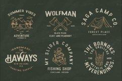 Holluise Vintage Extra Badges Logo Product Image 5