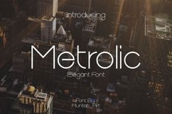 Metrolic   Elegant Font Product Image 1