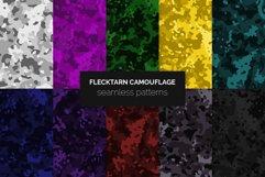 Flecktarn Camo Seamless Patterns Product Image 1