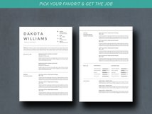 Chic Resume Template CV Product Image 4